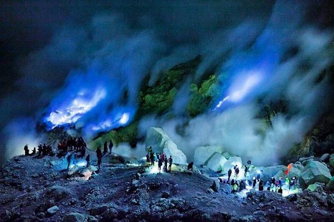 Blue Fire - Kawah Ijen